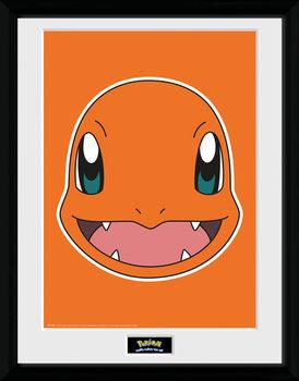 Pokemon - Charmander Face plastic frame
