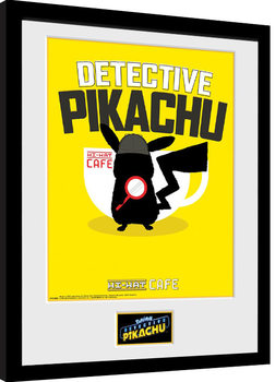 Pokemon: Detective Pikachu - Coffee Framed poster