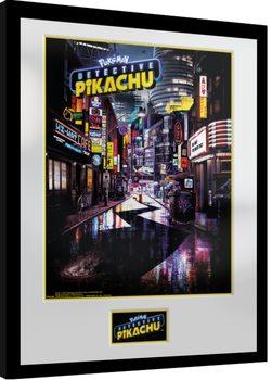 Framed poster Pokemon: Detective Pikachu - Teaser