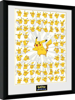 Pokemon - Pikachu Framed poster