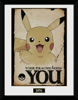 Pokemon - Pikachu Needs You plastic frame