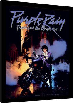 Prince - Purple Rain Framed poster