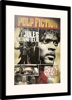 Framed poster Pulp Fiction - Jules