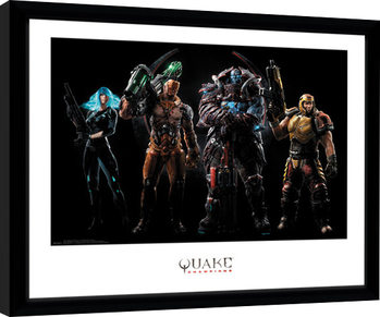 Quake Champions - Group Framed poster