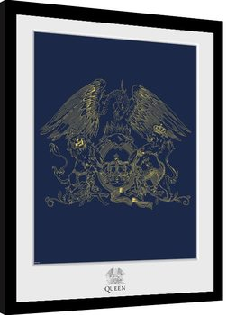 Queen - Crest Framed poster
