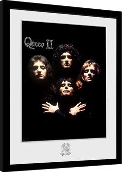 Framed poster Queen - Queen II