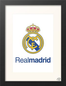Framed poster Real Madrid