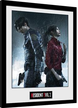 Resident Evil 2 - Rain Key Art Framed poster