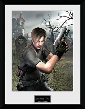 Resident Evil - Leon Graveyard plastic frame