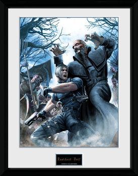Resident Evil - Leon plastic frame