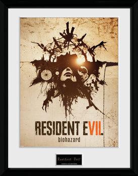 Resident Evil - Talisman plastic frame
