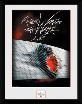 Roger Waters: The Wall - Tour Poster Framed poster