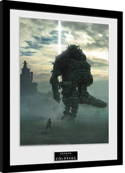 Shadow Of The Colossus - Key Art Framed poster