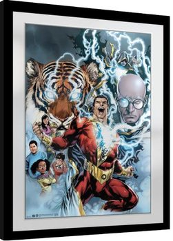 Framed poster Shazam - Collage