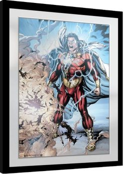 Framed poster Shazam - Power of Zeus