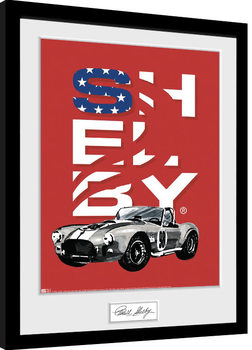 Shelby - Stars Framed poster