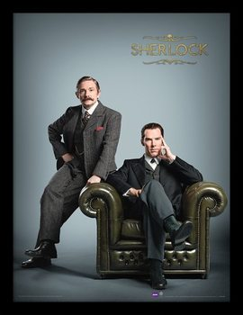 Sherlock - Chair Framed poster