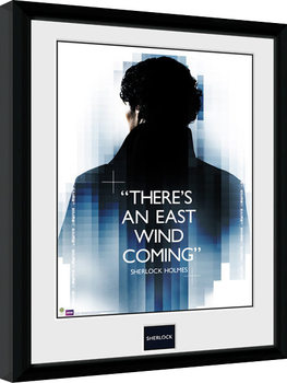 Sherlock - East Wind Framed poster