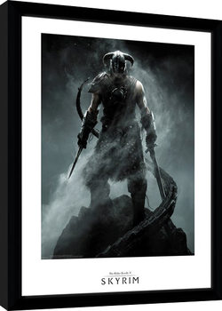 Skyrim - Dragon Born Framed poster