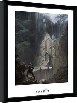 Skyrim - Elf Temple Framed poster