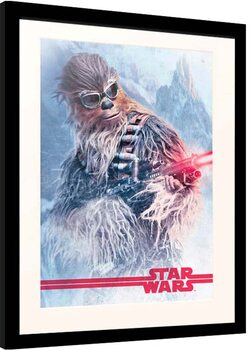 Framed poster Solo: Star Wars Story - Chewbacca at Work