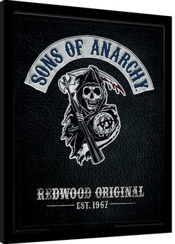 Sons of Anarchy - Cut Framed poster