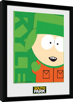 South Park - Kyle Framed poster