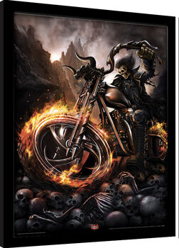 Framed poster Spiral - Wheels of Fire