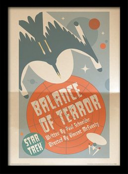 Star Trek - Balance Of Terror Framed poster