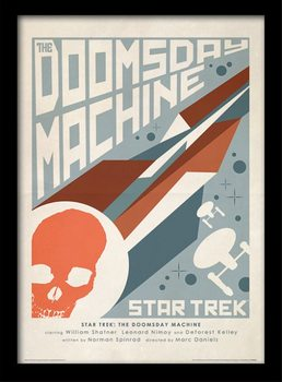 Star Trek - The Doomsday Machine Framed poster