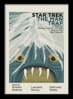 Star Trek - The Man Trap plastic frame