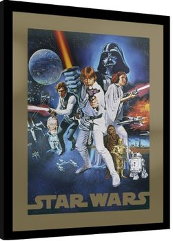 Star Wars - A New Hope Framed poster