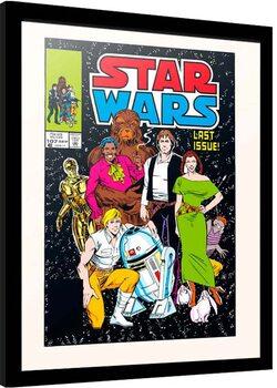 Framed poster Star Wars - All Together Now
