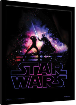 Star Wars - Battle Framed poster