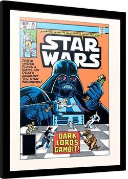 Framed poster Star Wars - Dark Lord's Gambit