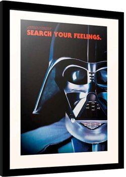 Framed poster Star Wars - Darth Vader Frase