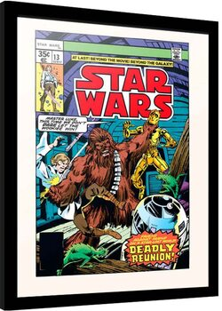 Framed poster Star Wars - Day of the Dragon Lords