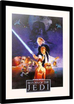 Framed poster Star Wars: Episode IV - Return of the Jedi