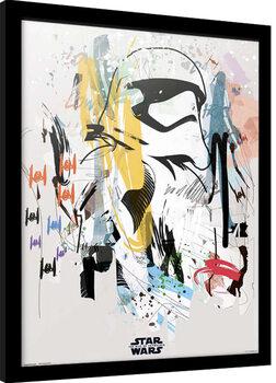 Framed poster Star Wars: Episode IX - The Rise of Skywalker - Artist Trooper