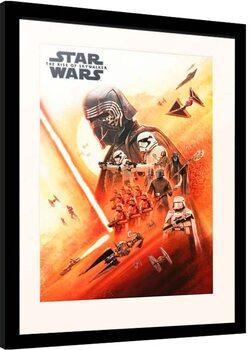 Framed poster Star Wars: Episode IX - The Rise of Skywalker - First Order