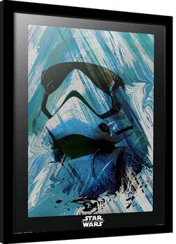 Framed poster Star Wars: Episode IX - The Rise of Skywalker - First Order Trooper