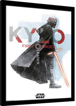Framed poster Star Wars: Episode IX - The Rise of Skywalker - Kylo Ren