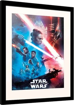 Framed poster Star Wars: Episode IX - The Rise of Skywalker - One Sheet