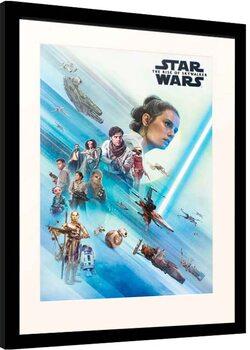 Framed poster Star Wars: Episode IX - The Rise of Skywalker - Resistence