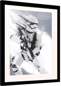 Framed poster Star Wars: Episode VII - The Force Awakens - Stormtrooper