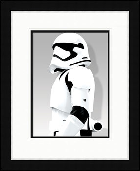 Star Wars Episode VII: The Force Awakens - Stormtrooper Shadow Framed poster