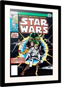 Framed poster Star Wars - First Issue