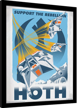 Star Wars - Hoth Framed poster