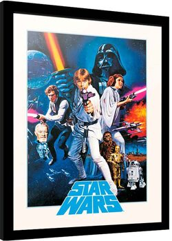 Framed poster Star Wars