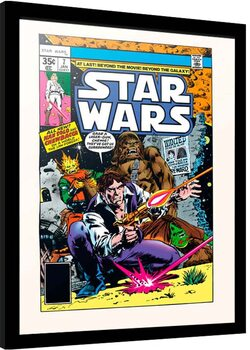 Framed poster Star Wars - New Planets New Perils